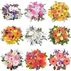 FiftyFlowers.com - Mixed Flower Centerpieces, Customize Your Color Scheme