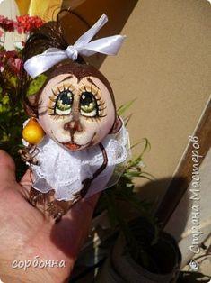 Куклы Шитьё интерьерные куклы обезьянки лягушки ангелочки Ткань фото 1