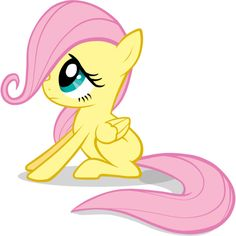 Fluttershy ❤ liked on Polyvore featuring my little pony and characters
