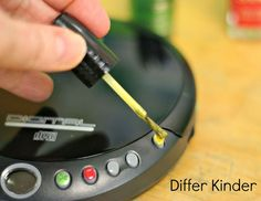Use nail polish to help kids understand the function of the buttons.