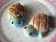 Uhh Pokemon Squirtle bread marshmallow thing?