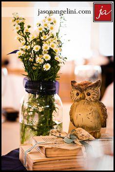 Vintage style arrangement as centerpiece Vintage Flower Arrangements, Mason Jar Arrangements, Vintage Flowers, Vintage Style, Vintage Fashion, Our Wedding, Wedding Ideas, Wedding Decorations, Table Decorations