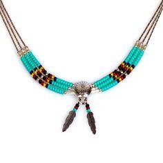 Collier Navajo - Un collier porteur de chance, de joie et de bonheur - 39,95 €