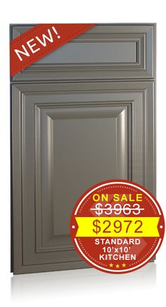 Bronson Maple Creek Stone - Discount Kitchen Cabinets