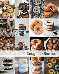Homemade Donut Recipes-Desserts Idea-Treat Idea | theidearoom.net