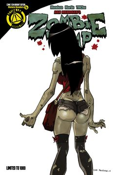 Can not adult comics zombie babes