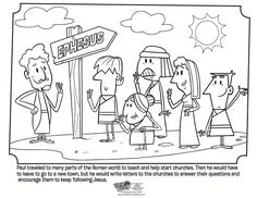 paul and the church coloring page whats in the bible great printable coloring pages