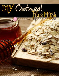 How to Make an Oatmeal Face Mask!