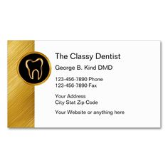 Dentist business appointment card pinterest business cards and classy dentist business cards make your own business card with this great design all you need is to add your info to this template colourmoves