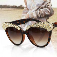 06e8644f67ef 12 Best Rhinestone Sunglasses for Women images