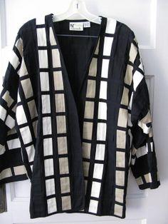 Yak Magik Jacket Designer Blazer 80's Kimono by greenleafvintage1, $49.99