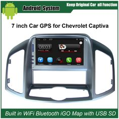 Upgraded Original Car Radio Player Suit to Chevrolet Captiva 2008-2012 Car Video Player Built in WiFi GPS Navigation Bluetooth