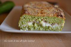 sformato di zucchine,sformato di zucchine con mozzarella,sformato,le ricette di tina