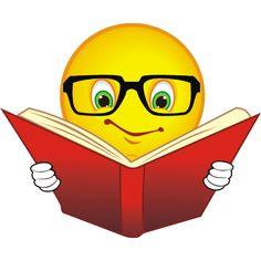Reading smiley face