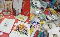 Υλικά αποκριάτικων κατασκευών και δωράκια για την ημέρα του Αγίου Βαλεντίνου από το Βιβλιοπωλείο ΗΛΙΟΤΡΟΠΙΟ (φωτογραφίες)