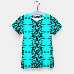 Kids t-shirt blue with MANDALA ARt Design Shop, Mandala Art, Boutique, Live, Stylish, T Shirt, Shopping, Women, Fashion