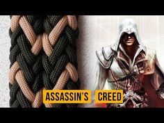 Браслет из паракорда Assassin's Creed - YouTube