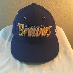 "Young Men's Milwaukee Brewers Hat Young Men's Milwaukee Brewers hat in ""like new"" condition. Have no use for it, does not fit. NO TRADES. Forty Seven Brand Accessories Hats"