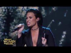Demi Lovato - Stone Cold (Live at Billboard's Women In Music) - YouTube