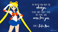Sailor Moon quote