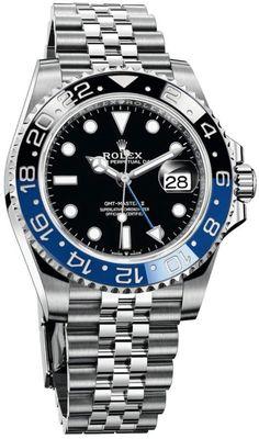 Army Watches, Rolex Watches For Men, Luxury Watches For Men, Wrist Watches, Rolex Submariner Blue, Rolex Datejust, Rolex Batman, Rolex Explorer Ii, Rolex Gmt Master