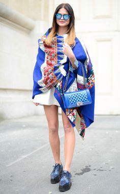 paris+fashion+2015 | ... Siba from Street Style: Paris Fashion Week Spring 2015 | E! Online