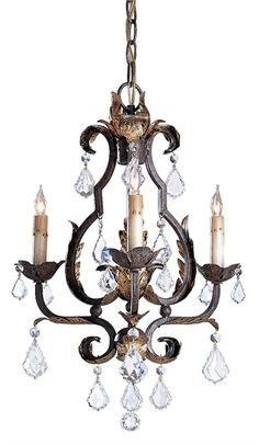 Tuscan Chandelier Lighting 3E | Currey & Company