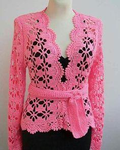 Fabulous Crochet a Little Black Crochet Dress Ideas. Georgeous Crochet a Little Black Crochet Dress Ideas. Crochet Bolero, Gilet Crochet, Crochet Coat, Crochet Jacket, Crochet Cardigan, Crochet Clothes, Crochet Stitches, Bolero Sweater, Knit Jacket