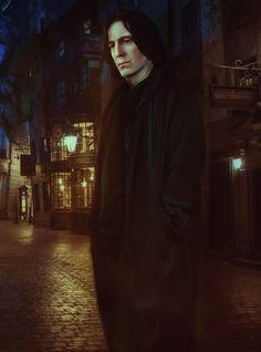 "masterseverussnape: ""Severus by xantishax277 """