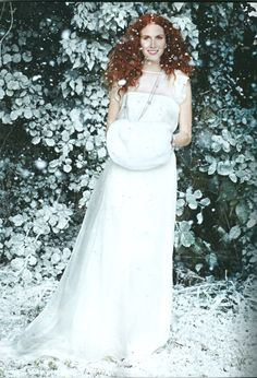 Bridal Pixie Muff by Blanche in the Brambles, as featured in You and Your Wedding Magazine.