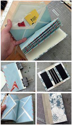 DIY: Make An Envelope Book (by donovanbeeson)