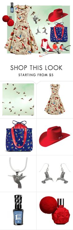 """""""Birds Eye View"""" by wendy-collins-1 ❤ liked on Polyvore featuring Vera Bradley, Bailey Western, NOVICA, Carolina Glamour Collection and A.F. Vandevorst"""