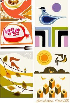 Inspired by Illustrator Andrew Pavitt