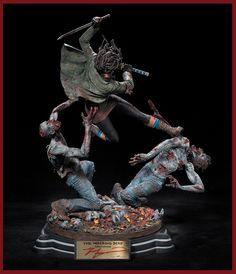 [MCFARLANE TOYS] The Walking Dead: Michonne Statue