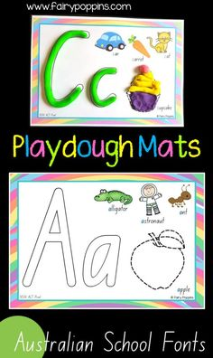 Beginning sounds activities for kids. These hands-on activities help kids learn about the alphabet and letter sounds. Kids learn to identify the beginning sound of letter using playdough mats, puzzles and sorting games. Handwriting Activities, Phonics Activities, Alphabet Activities, Letter Sound Activities, Preschool Alphabet, Literacy Activities, Early Learning Activities, Kids Learning, Activities For Kids