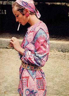 velvet-dreams: Harper's BAZAAR, 1969. « Bindu Gallery