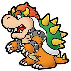 Bowser Amigurumi from Super Mario Bros