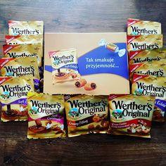 To się nazywa słodka niespodzianka!  #softeclairs #swiatkarmelu #werthersoriginal @rekomendujto  #słodycze #polska #poland #poznań #poznan #kakaludek #food #sweets #polishgirl #blog