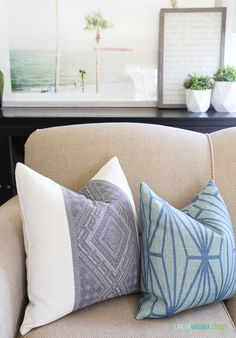 A gorgeous curated collection of white and neutral sofas that are polished but casual in linen and durable canvas fabrics. Beautiful Home Gardens, Beautiful Homes, House Beautiful, Sofas, E Design, Interior Design, Neutral Sofa, Life On Virginia Street, Living Room Decor Inspiration