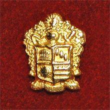 ΦKΘ Coat of Arms Pin