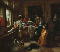 The Athenaeum - The Family Concert (Jan Steen - )