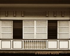 1000 images about filipino architecture capiz pounded for Capiz window