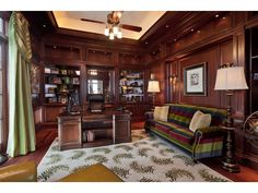 Traditional Home Office Space - Naples, FL