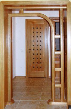 Single Wooden Door Designs, Wooden Front Door Design, Wooden Front Doors, Closet Layout, Cupboard Design, Bottle Crafts, Glass Design, Glass Door, Kitchen Remodel