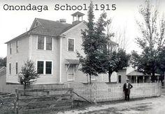 Nedrow NY Onondaga Indian School 1915