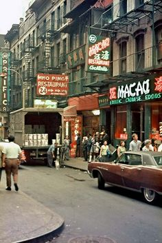 Photos of New York taken in 1971