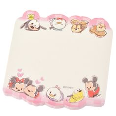 [Official] Disney Store | die-cut sticky TSUM TSUM (Tsumutsumu) Mickey & Friends: | Disney Goods Gift of official mail order site Disneystore