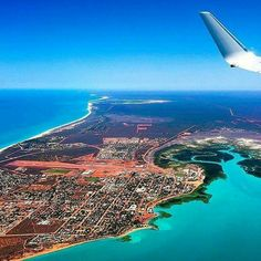 Over Broome, Western Australia. I Love Brooke Perth, Brisbane, Melbourne, Sydney, Broome Australia, Australia Travel, Beautiful Places To Visit, Places To See, Amazing Places