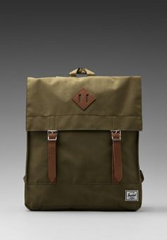 HERSCHEL SUPPLY CO. Survey Backpack in Army -  $57