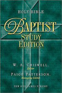 Bible: New King James Version Baptist Study Bible book by ...